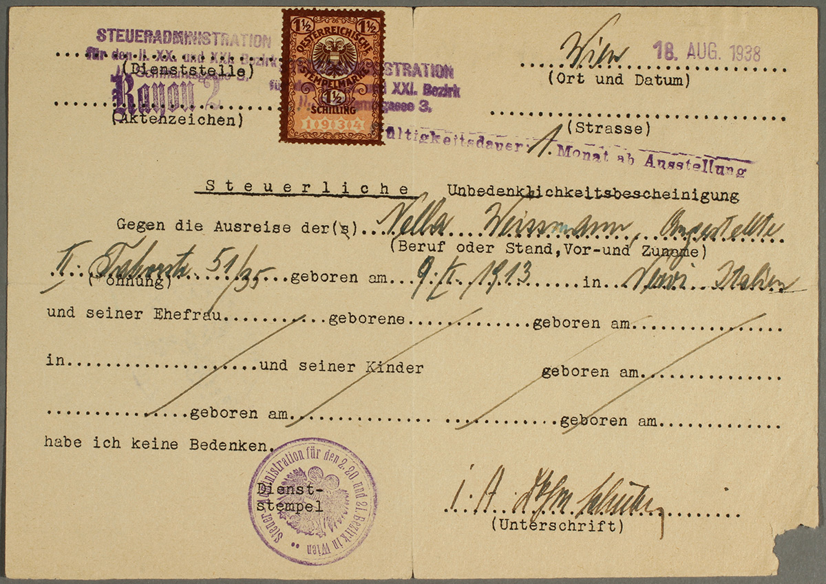 What did Refugees Need to Obtain a US Visa in the 1930s